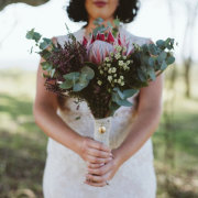 bouquets, bridal bouquet, proteas - Tala Collection Private Game Reserve