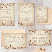 stationery - Desert Rose Design