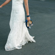 dress, shoes, wedding dress - The Mosaic Wedding Company