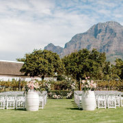outdoor ceremony - The Mosaic Wedding Company