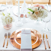 table setting - The Mosaic Wedding Company