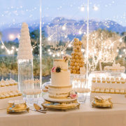 candy station, wedding cakes - The Mosaic Wedding Company