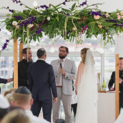 flower arch - The Mosaic Wedding Company