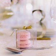 macaroon, wedding favour - The Mosaic Wedding Company