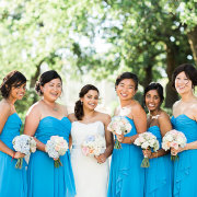 bouquet, bridesmaid dress, dress - The Mosaic Wedding Company