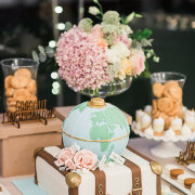 dessert, flowers - The Mosaic Wedding Company