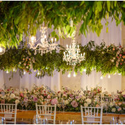 floral decor, hanging decor, hanging florals, hanging greenery - The Mosaic Wedding Company