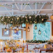 hanging decor, hanging floral, hanging greenery, lantern, lanterns - The Nutcracker Country Venue