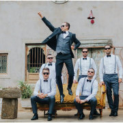 groom and groomsmen - The Nutcracker Country Venue