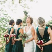 bride and bridesmaids - To The T