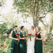 bride and bridesmaids, bridesmaids dresses, bridesmaids dresses - To The T