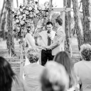 outdoor ceremony - Winery Road Forest