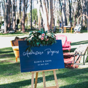 wedding stationery - Winery Road Forest