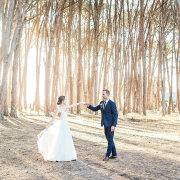 bride and groom, bride and groom, bride and groom - Winery Road Forest