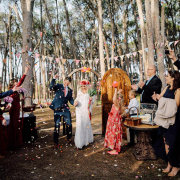 forest ceremony - Winery Road Forest