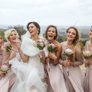 bouquets, bride and bridesmaids, proteas - Zandri Du Preez Photography
