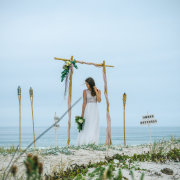 beach, wedding dress - Didi Couture