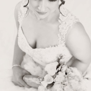 bouquet, wedding dress, makeup - Didi Couture
