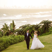 bride and groom, bride and groom, suits, wedding dresses