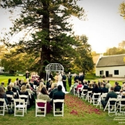 outdoor ceremony, white, nature