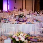 decor, decorative pieces, white and purple