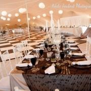 black and white, centrepiece, decor, decorative pieces, table setting