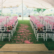 aisle, petals - ETC Events