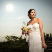 bouquet, wedding dress - ETC Events