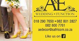 A & E Wedding and Function Decor