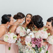 bride and bridesmaids - One Fine Day