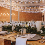 table decor, table decor - Oppie Plaas Venue