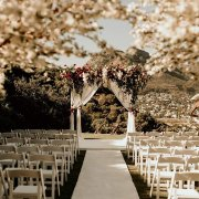 floral arches, flower arch, outdoor ceremony - The Lichtenstein Castle