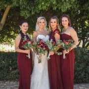 bride and bridesmaids - Smoorverlief Bridal