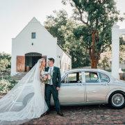 bride and groom, bride and groom, bride and groom, wedding cars - Zorgvliet
