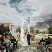 outdoor ceremony - Zorgvliet