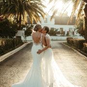 bridal couple, wedding venue - Zorgvliet