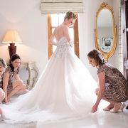 bride and bridesmaids, wedding dresses, wedding dresses, wedding dresses, wedding dresses - Zorgvliet