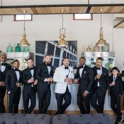 groom and groomsmen - Zorgvliet