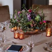 floral centrepieces - Cathé Pienaar Photography