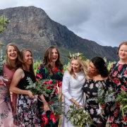 bride and bridesmaids - Cathé Pienaar Photography