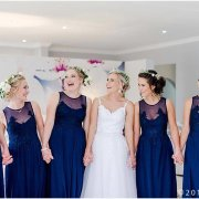 bridesmaids dress, flower crown - Lavender Hill