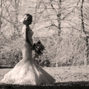 black and white, bride