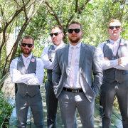 groom and groomsmen, grooms suits - VlakVark Productions
