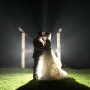bride and groom, bride and groom, kiss, kiss - VlakVark Productions