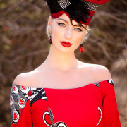 african, makeup, red - Louise Meyer Photographers