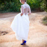 shoes, wedding dress - Louise Meyer Photographers