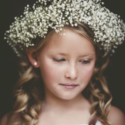 flower crown, flower girl