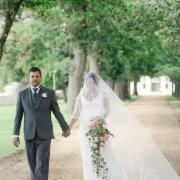 bouquet, suit, veil