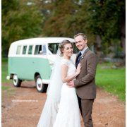 bride and groom, car, veil - Jonkershuis Constantia
