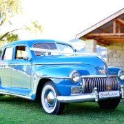 blue, car, classic, vintage - BookAclassic